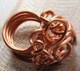 Jasmine Twisted Wire Copper Ring