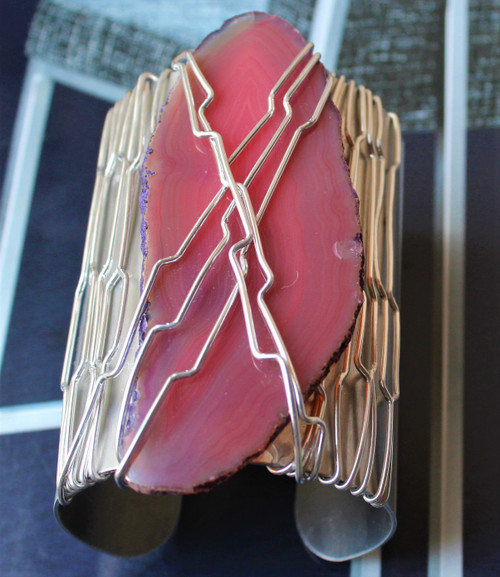 Kelly Wire Wrapped Cuff