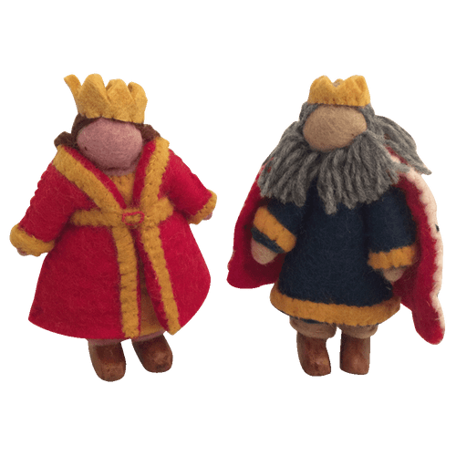 King and Queen set, 2 pieces.