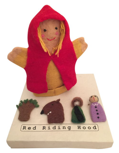 Story Puppets are sold boxed.