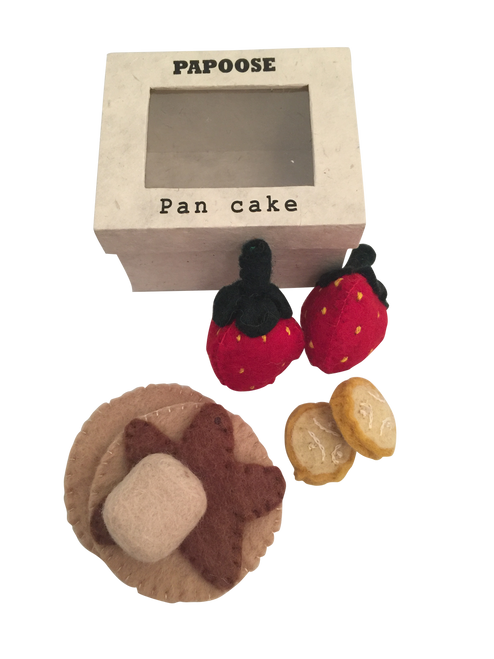 Pancake set is part of our boxed range.