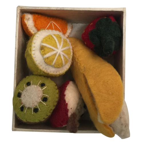 A good mini starter set of our fruit, boxed.