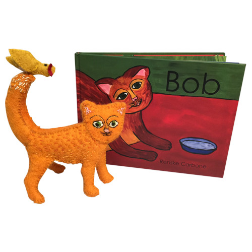 Bob, Book and Toy.