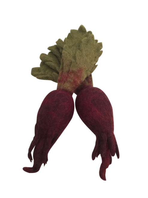 Papoose felt vegetables and fruit are very popular and there's a wide range available.