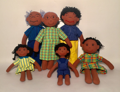 African Family, made with Fair Trade in Sri Lanka from hand loomed cotton.