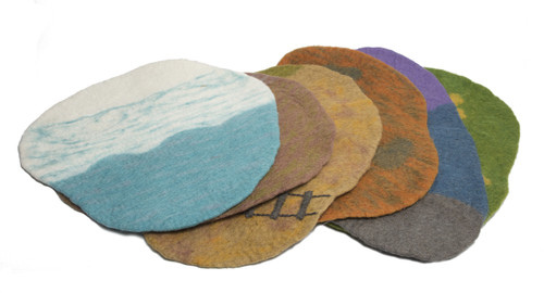 Australia Scape Mats, 6 different play mats to portray all kinds of environments.