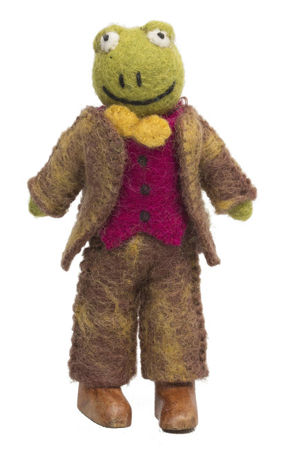 Flamboyant Mr Toad is part of the Wind in the Willow story but works well as a character on his own