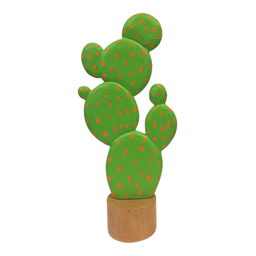 The set consists of 3 pieces, Nopales are used in daily cooking in Mexico.