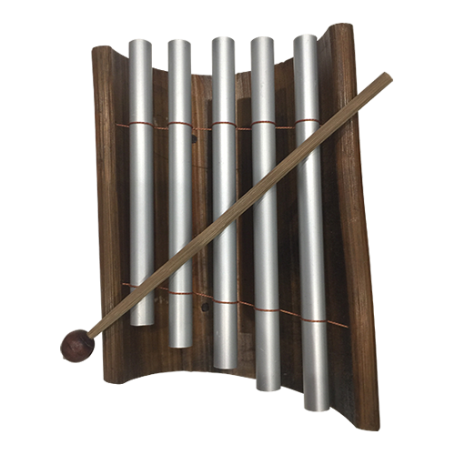 The second xylophone in our range, the base is made from bamboo and it has a lovely sound range. Sold in singles.