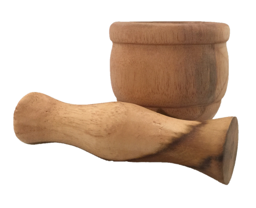 Small mortar and pestle
