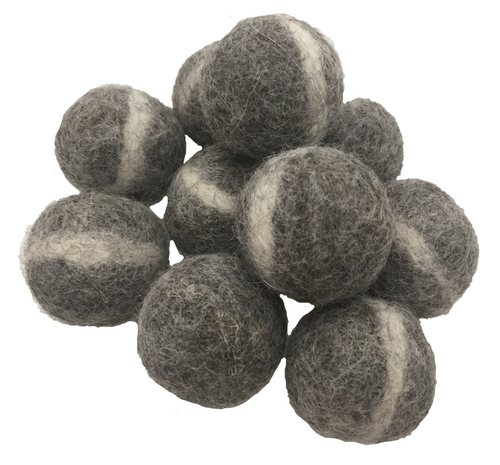 Light Grey Rock Balls 3cm/20pc