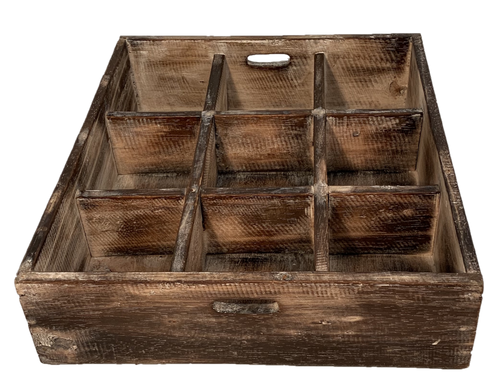 9-opening sorting tray