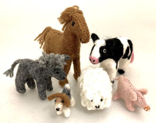 A lovely group of farm animals