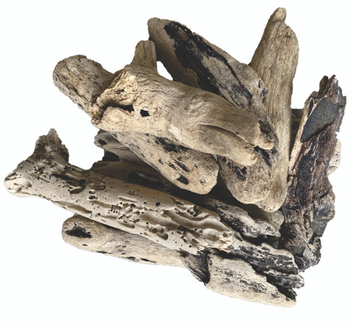 10 assorted pieces of chunky driftwood. Sizes vary