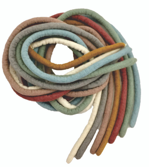7 Ropes, one each in our Earth colours. Strong, flexible, multi-functional, what games are you going to invent?