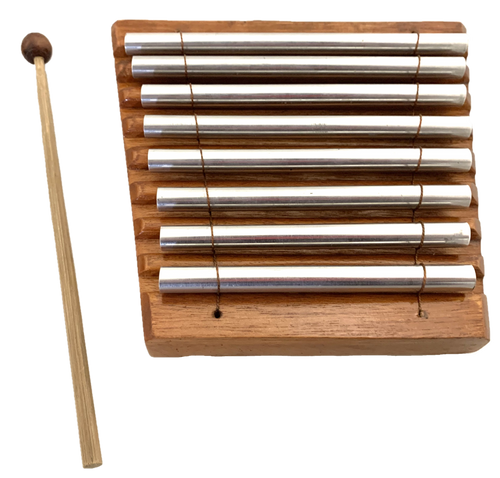 This xylophone is 16x16cm.