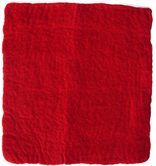 Hand Felted Pure Wool Felt Sheets 25x25cm 2 pieces