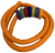 Orange rope with 7 doughnuts. (Other colours available separately.) Full set of 7 ropes and 49 doughnuts also available P/P700Full Set