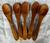 6 spoons ( 5 shown) 12x2.5cm