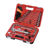 "Sidchrome 69pce 3/8"" Drive Metric & A/F Socket & Spanner Combination Tool Set - SCMT10811"