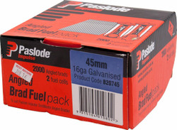 Paslode Impulse Angled Nail/Fuel Pack 45mm #B20745