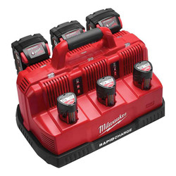 Milwaukee M12 and M18 Rapid Charge 12v and 18v Station #M12-18C3