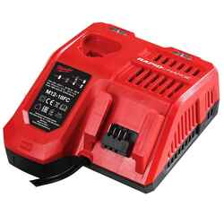 Milwaukee M12 and M18 Rapid 12v - 18v Charger # M12-18FC