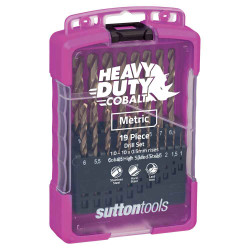 Sutton 19pce Metric Heavy Duty Cobalt Drill Set - D109SM2