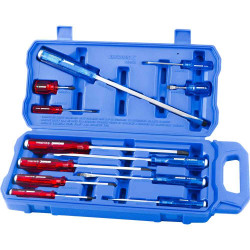 Kincrome 12pce THRU-TANG Screwdriver Set - K5058