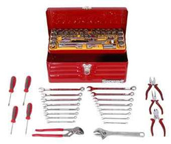 Sidchrome 65pce Tool Kit in Cantilever Toolbox - SCMT10142