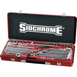 Sidchrome 60pce Metric and AF Socket and Spanner Tool Set - SCMT10175