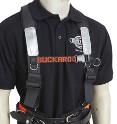 Buckaroo Padded Shoulder Braces - Black # TMHB