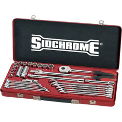 Sidchrome 31pce Socket and Spanner Set - SCMT10236