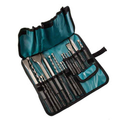 Makita 17pce SDS Hammer Drill Bit and Chisel Set # D-53073