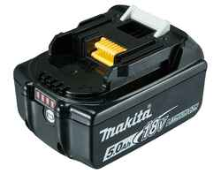 Makita 18V5.0Ah Lithium-Ion Cordless Battery with Fuel Gauge - BL1850B-L