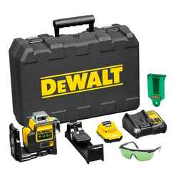 DeWalt 10.8v 12v MAX 3 Way Self-Levelling Multi Line Green Rotating Laser Level # DCE089D1G-XE