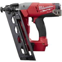 Milwaukee M18 FUEL 16ga Angled Finish 18v Cordless Nailer 32-63mm - SKIN #M18CN16GA-0C