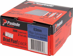 Paslode Impulse Angled Nail/Fuel Pack 63mm # B20765