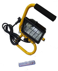 Arlec Portable Halogen Floodlight 150w - HL8