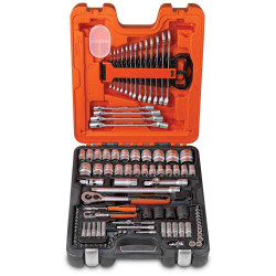 Bahco 94pce Socket and Spanner Combo Set BONUS # S877