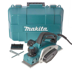 Makita 82mm Power Planer 620w Carry Case #KP0800K