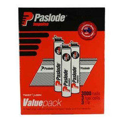 Paslode 50mm Bright Finish Smooth Shank Nails - Pack of 3000 #B20544V