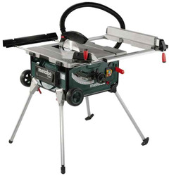 Metabo 2000W Table Saw Integrated Stand BONUS - TS254