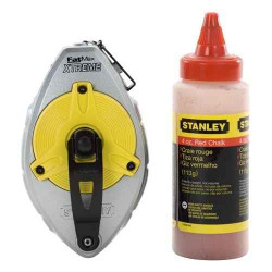 Stanley FatMax Extreme 100 Chalk Line Set Red #47.483