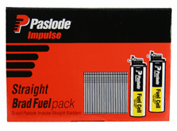 Paslode 30mm ND Series 14ga Galvanized Nails - Pack of 2000 #B20640