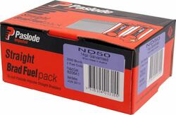 Paslode 50mm ND Series 14ga Galvanized Nails - Pack of 2000 #B20643