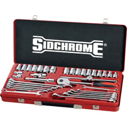 Sidchrome 35pce Metric and AF Tool Set - SCMT10184