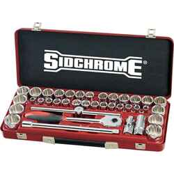 Sidchrome 40pce Combo Socket Set 1/2 - Metric and AF - SCMT14105