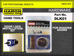 Haron Door Lock Installation Kit # DLK-01