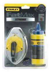 Stanley 100 FatMaxr Xtremetm Chalk Box 2 Piece Set with 4 oz Bottle Stanleyr Blue Chalk #47.482